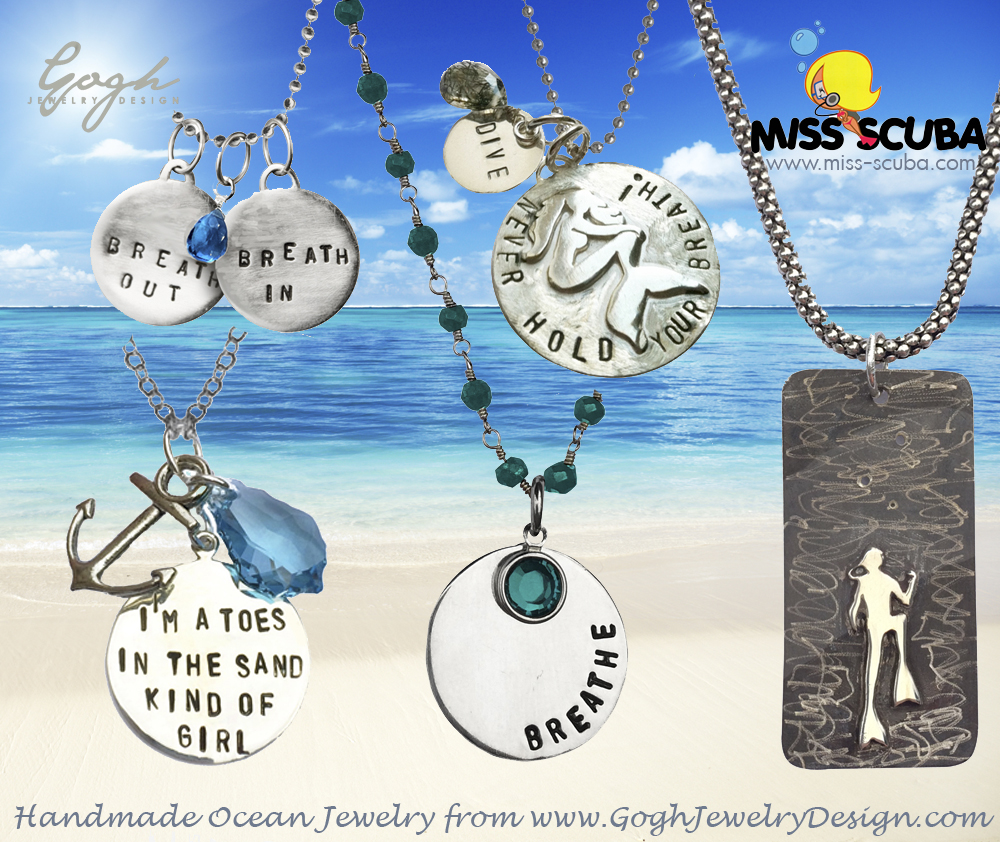 miss scuba necklace