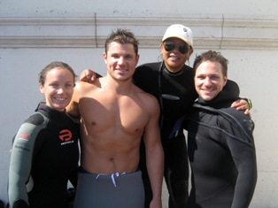 scuba diving with nick and drew lachey