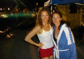 piranha movie dina myere and me