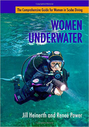 women ubderwater book